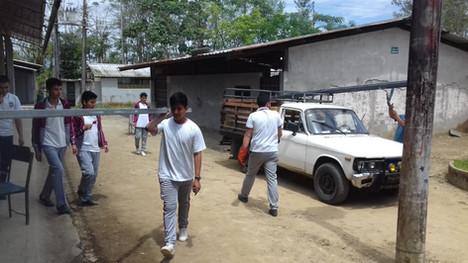 Kick off construction cosmogolem at Ecuador