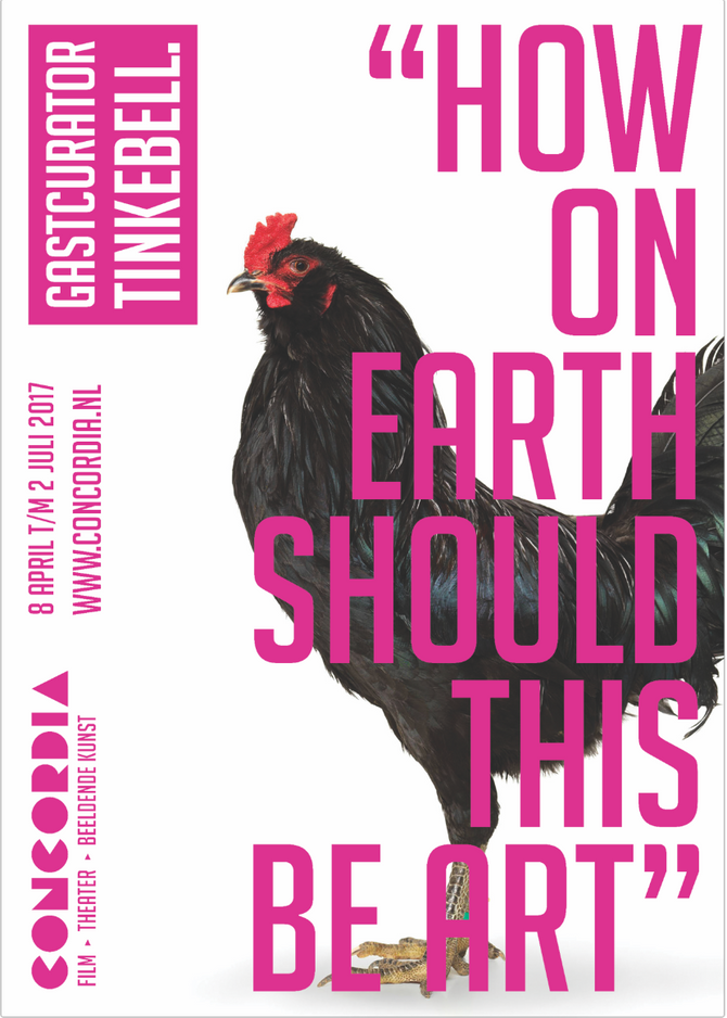 Planetary Community Chicken, How on earth should this be art?, Concordia, Enschede (NL), APR - JUN,