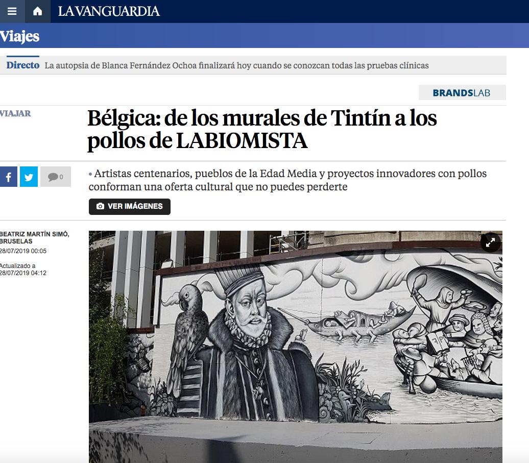 La Vanguardia, 2019