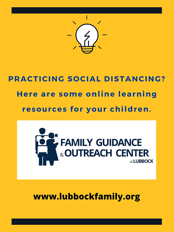 online learning sources for your family.