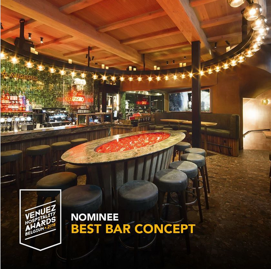 Cosmocafe nominated as Best Bar concept, venuez