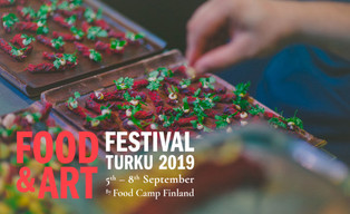 COSMOCAFE, UNDER PRESSURE, Art & Food Festival, Turku (FI), 5-8 SEPT, 2019