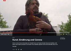 Kulturzeit on corona and art