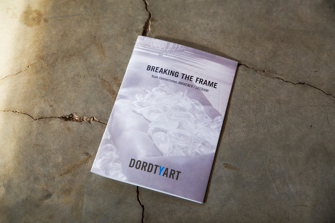 Breaking the Frame, publication on Koen Vanmechelen's installation at DordtYart