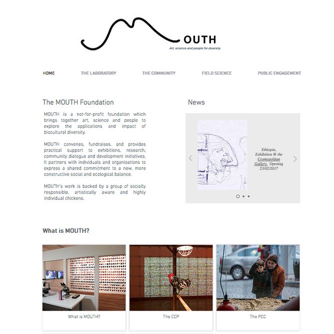 MOUTH website online