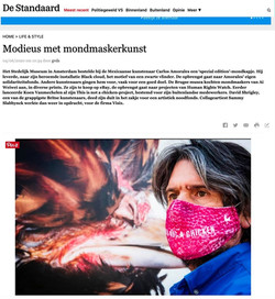 De Standaard on the MOUTH Mask