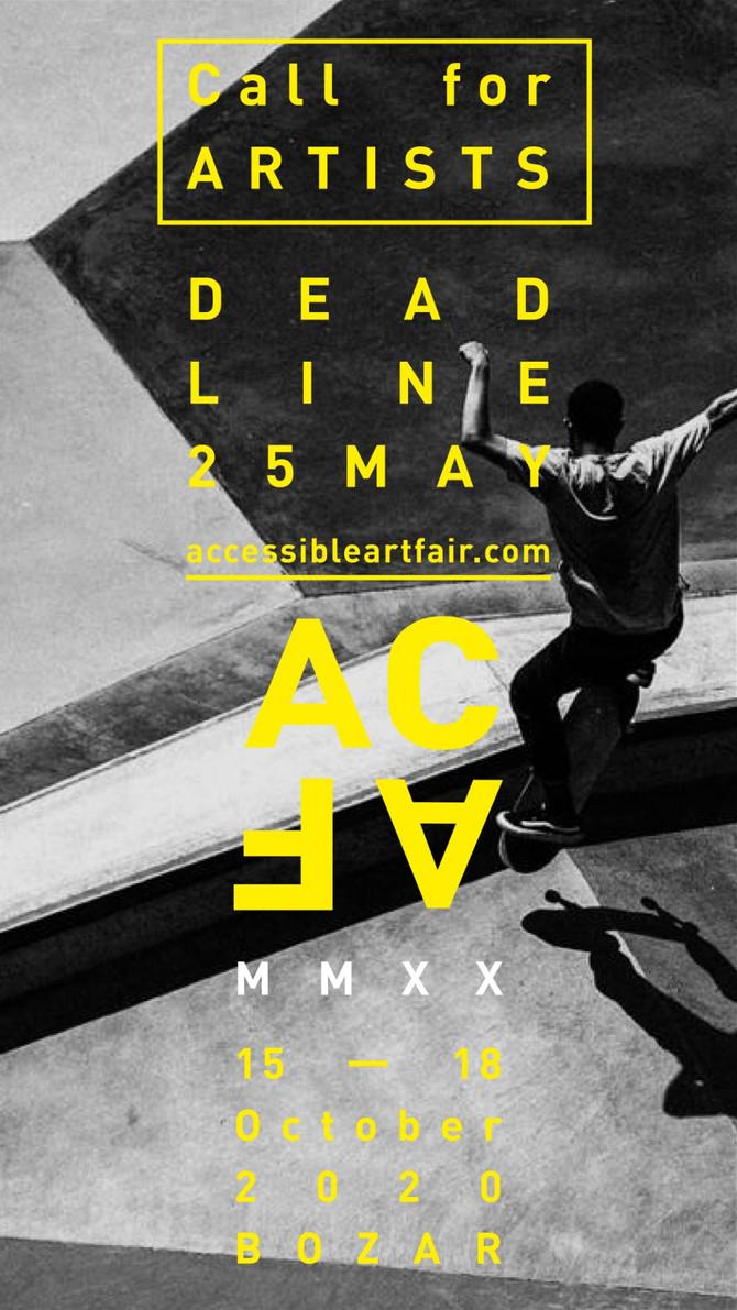 ACAF, MMXX, 15-18 OCT, Bozar (BE)