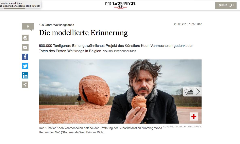 Der Tagesspiegel, 28.03.2018