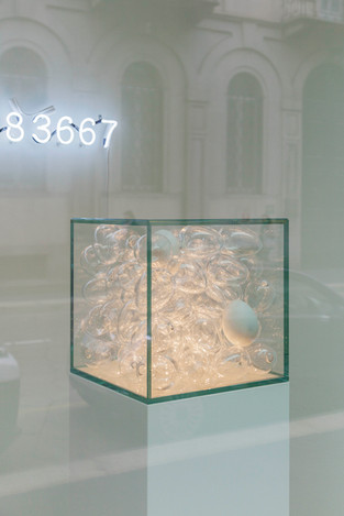 Under Pressure, Open Secret, From sand, works in glass, Milan (IT), 24/7