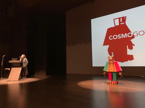 Cosmogolem inauguration