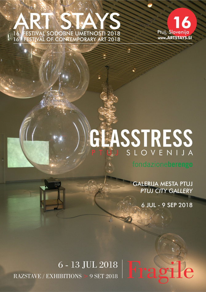 Glasstress Ptuj Slovenija, 16th Festival of Contemporary Art, 6 JUL - 9 SEP, 2018