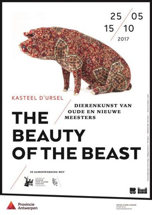 The Beauty of the Beast, Kasteel d'Ursel, Hingene (BE), MAY 25 – OCT 15, 2017