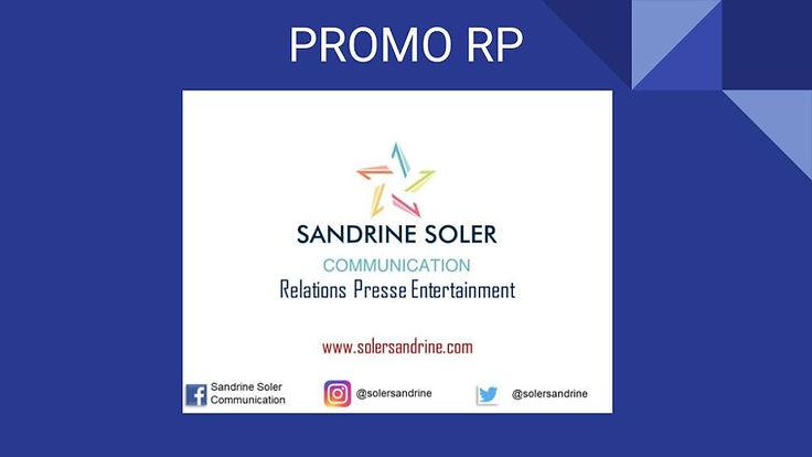 PROMO RP - SANDRINE SOLER COMMUNICATION.