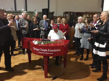 Chopin Birthday Celebration at the Polish Museum Of America held on February 25th, 2017.
