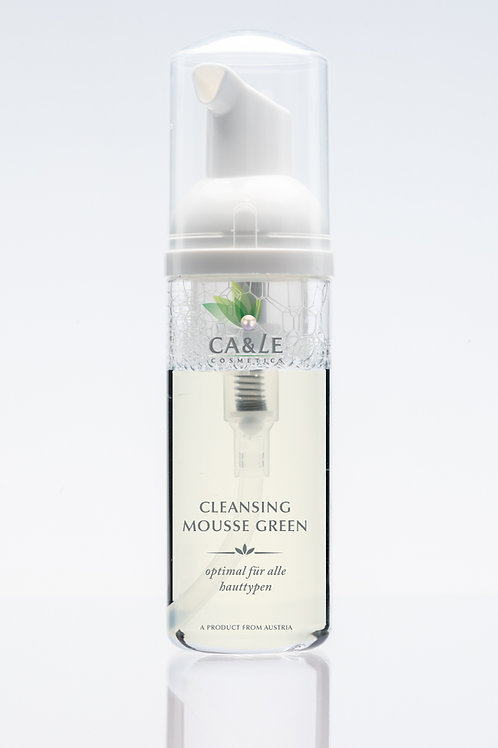 Cleansing Mousse Green Tea
