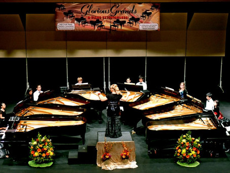 Chopin's Music Festival & Fundraiser for the Chopin Garden in Grant Park Chicago. October 21