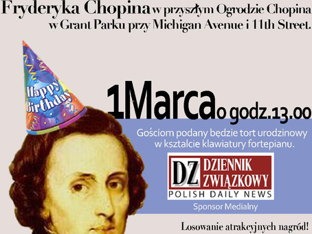 Chopin 205th Birthday Party & Piano Concert