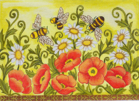 Bees and Poppies.jpg