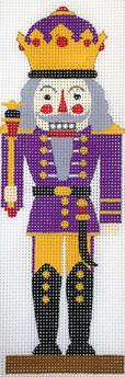 Purple Nutcracker