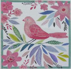 Pink Spring Bird