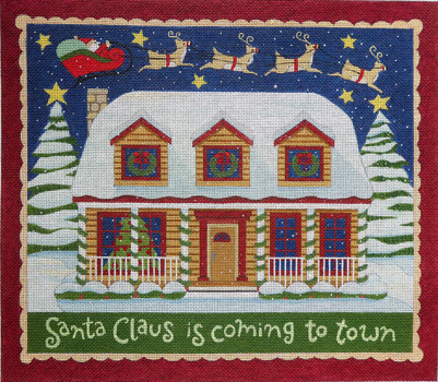 Santa Cluase is Coming to Town