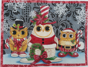 Chrtismas Owls