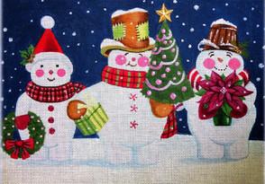 Snow Happy Trio