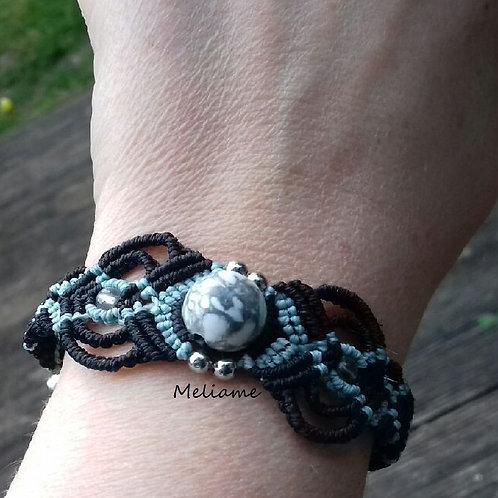 Bracelet Albertina Howlite