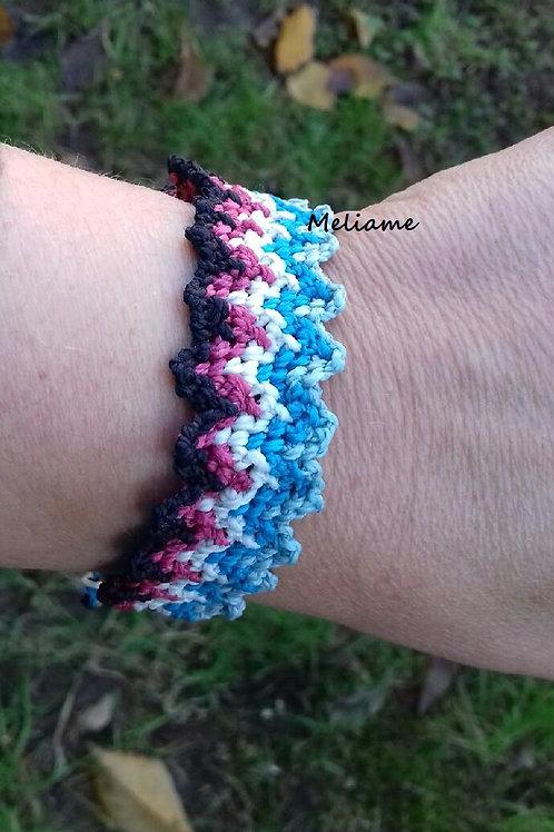 Bracelet Adriana zig zag