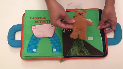 LET'S GO CAMPING BOOK
