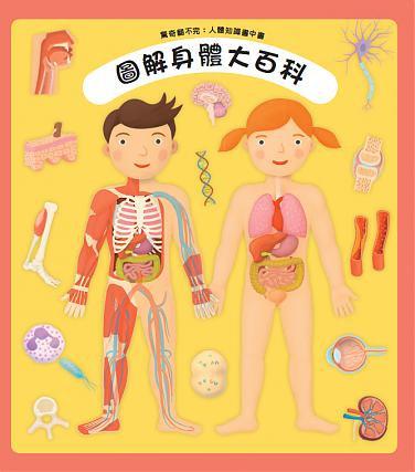 驚奇翻不完:人體知識書中書—圖解身體大百科