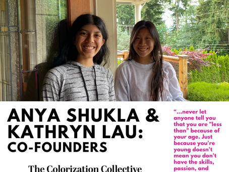 LEADERS' SPOTLIGHT: Anya Shukla & Kathryn Lau