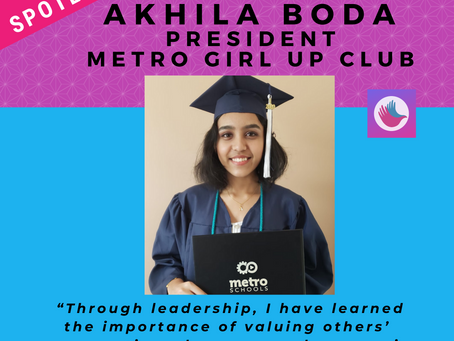 LEADER SPOTLIGHT: Akhila Boda