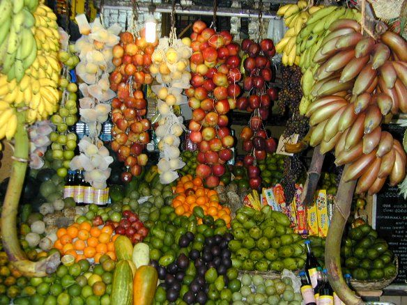 Galle fruit market