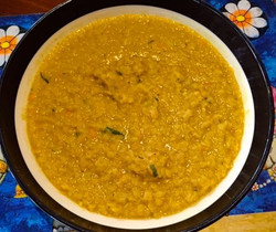 Dahl by our cook