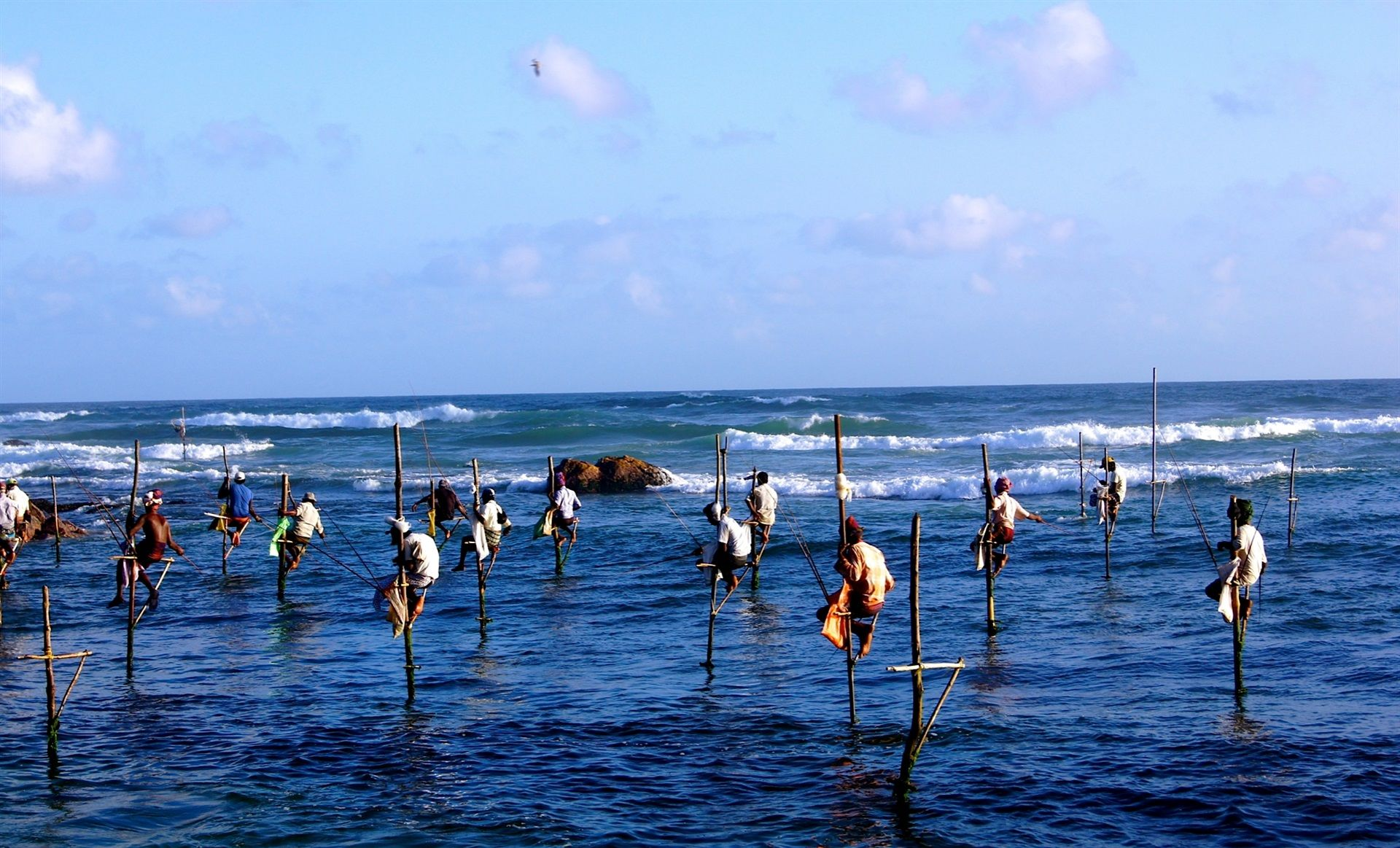 Koggala Stilt Fisherman