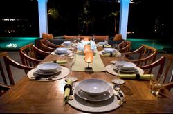 Dinner at Mandalay