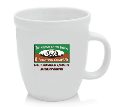 Pinetop Coffee House Heavy Duty Oversized Coffee Mug
