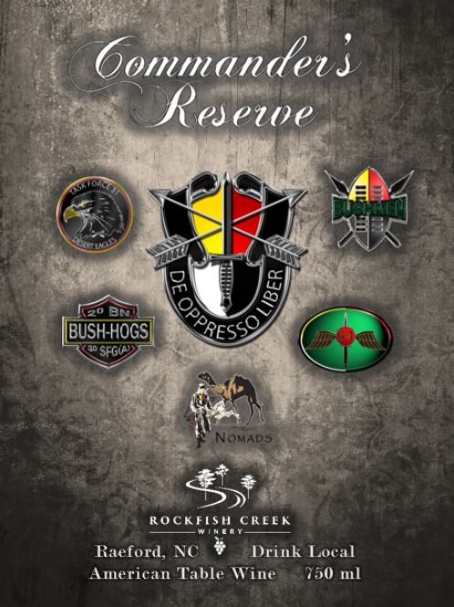 3SFG Anniversary Commander's Reserve