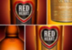 Red Heart Rum Packaging Design_Frolik Design