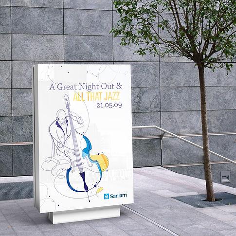 Sanlam Jazz Poster Design | Frolik Studio