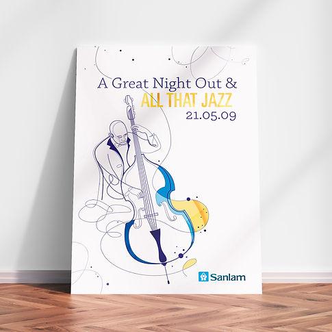 Sanlam Jazz Poster | Frolik Studio