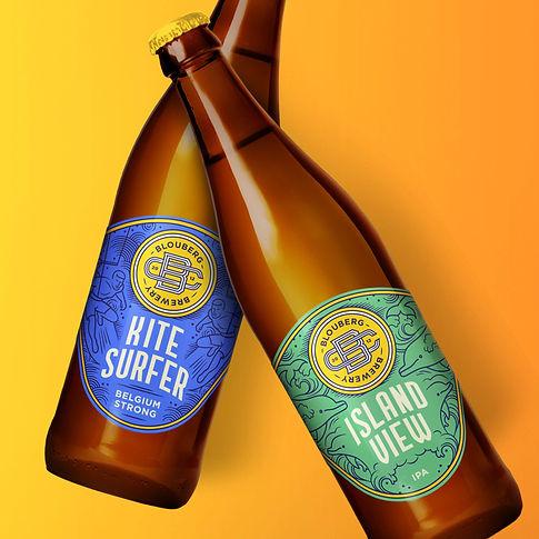 Frolik Design Blouberg Brewery Packaging