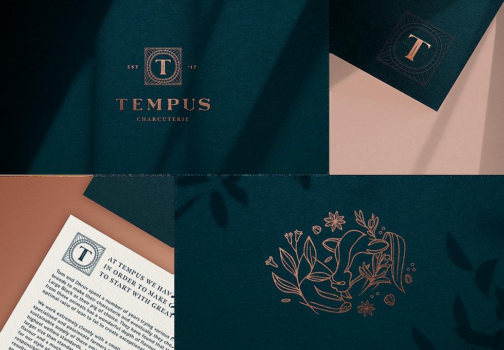 Tempus Charcuterie_Branding_Logo_Identity_Design_Elegant