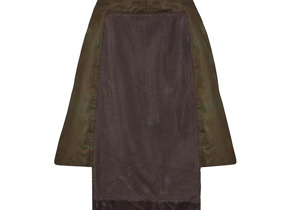 Mesh Panelled skirt