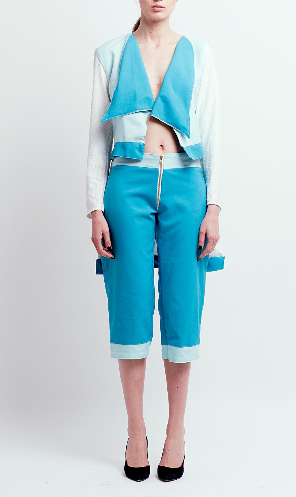 Waterfall Blazer & 3/4 Trouser