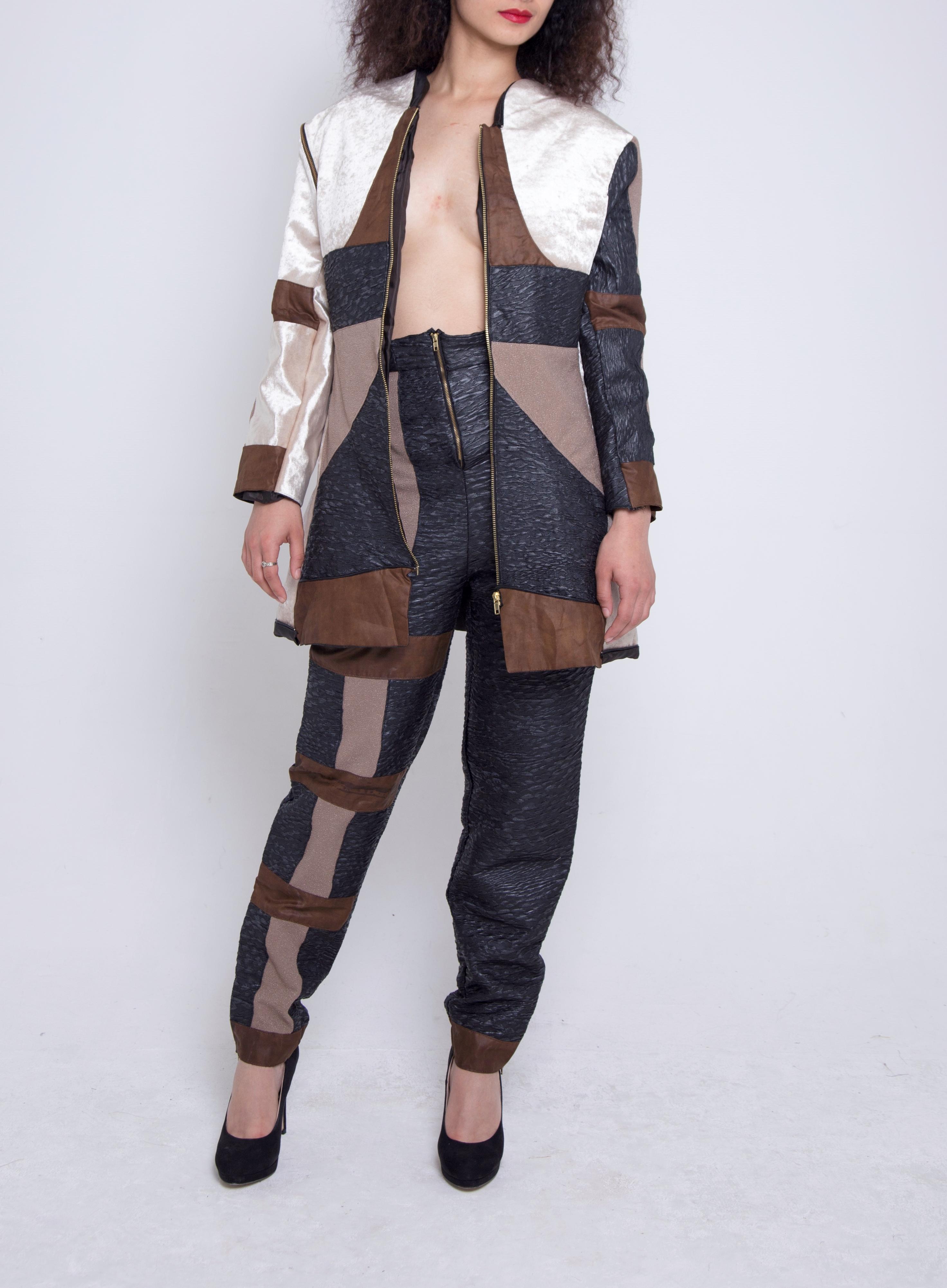Detachable Jacket & Panel Trousers
