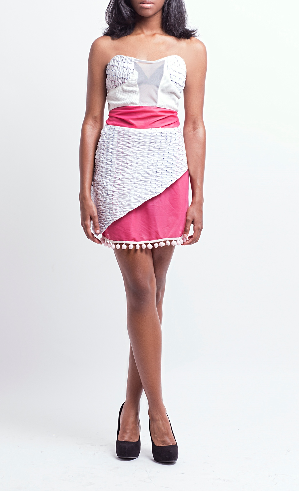 Sweetheart Honeycomb Dress