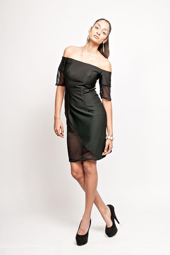 Bar Dot Dress