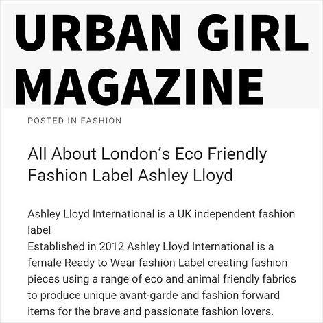 Urban Girl Magazine